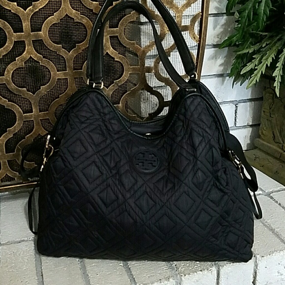 f4ae5777cd2 Tory Burch Marion Quilted Diaper Bag. M 5b199cb61b32947a42056fcd